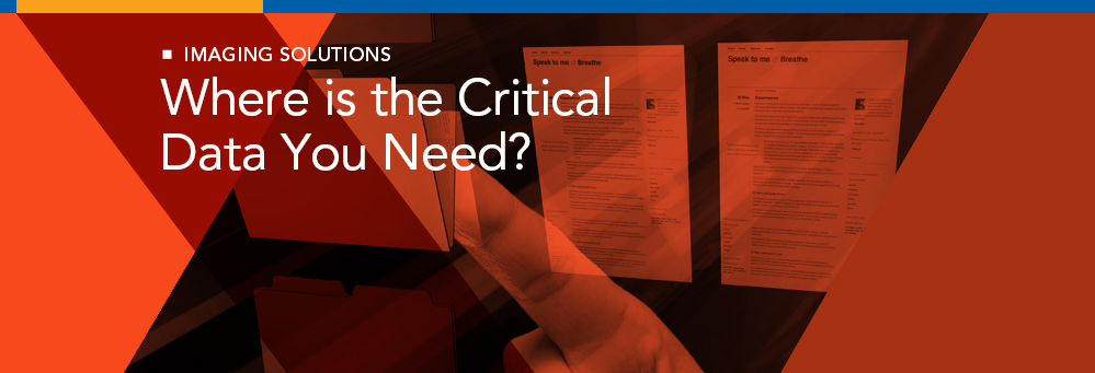 Where is the Critical Data You Need